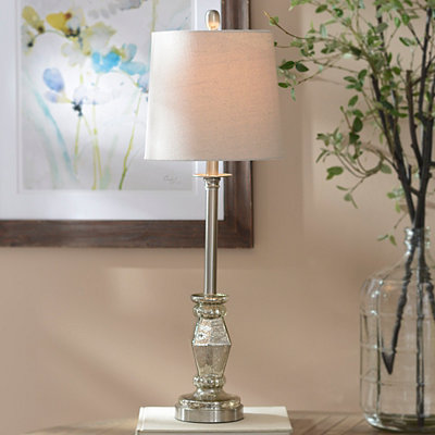 Mercury Diamond Buffet Lamp