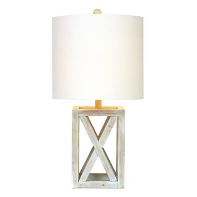 Driftwood Square Table Lamp