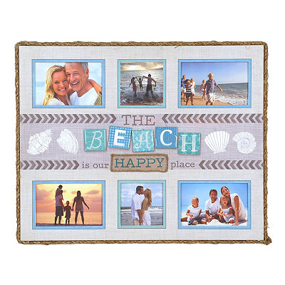Our Happy Place Collage Frame