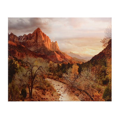Mt. Zion Canvas Art Print