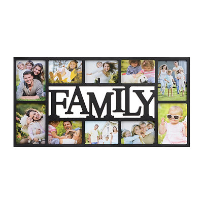 Family 10-Opening Collage Frame