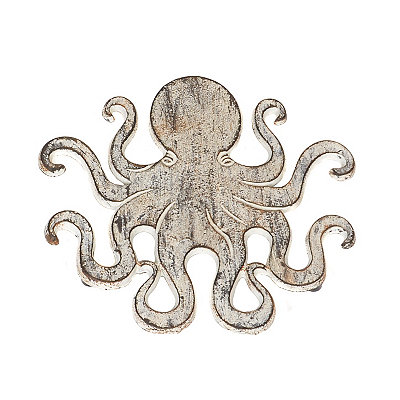 Distressed Octopus Trivet