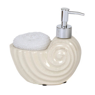 Shell Soap Pump with Sponge