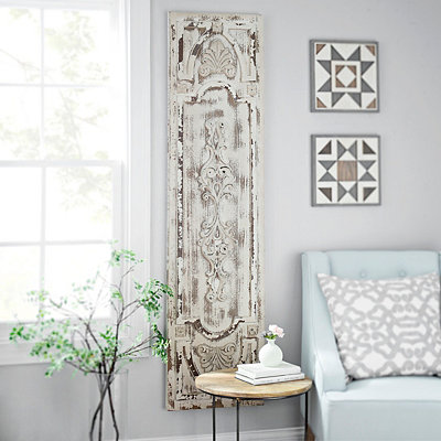 Distressed Vintage Door Wooden Panel