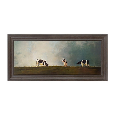 Hilltop Reunion Framed Art Print