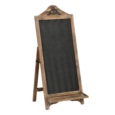 Weathered Natural Chalkboard Easel