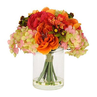 Camellia & Hydrangea Arrangement