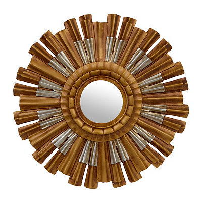 Metallic Farrah Sunburst Mirror