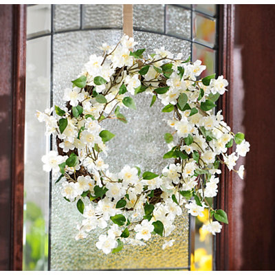 Cream Blossom Wreath