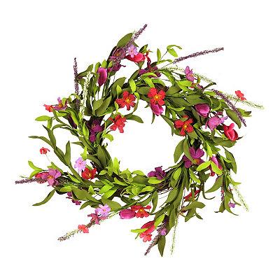 Spring Medley Wreath