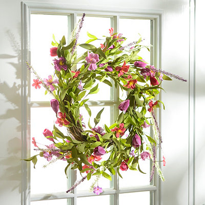 Spring Medley Wreath