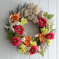 Door wreaths, boxwood wreaths and seasonal wreaths