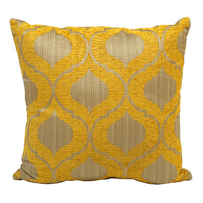Decorative Pillows At Kirklands : Yellow Vanness Pillow