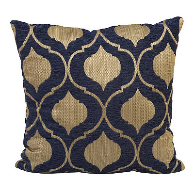 Decorative Pillows At Kirklands : Navy Vanness Pillow