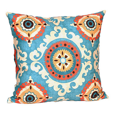 Aqua Valerie Pillow