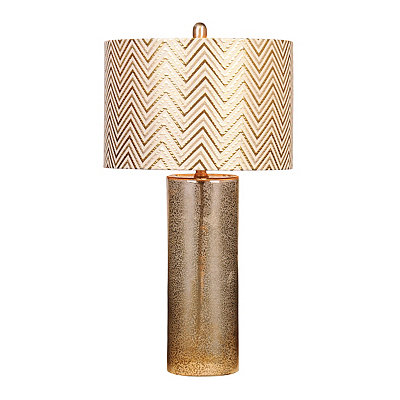 Brown Mercury Glass Table Lamp