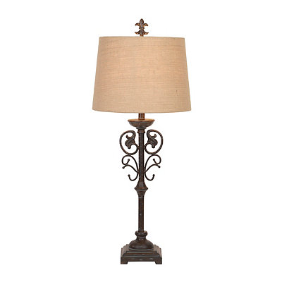 Highland Distressed Table Lamp