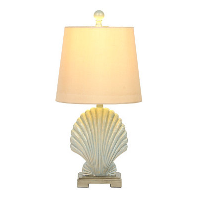 Sterling Seashell Table Lamp