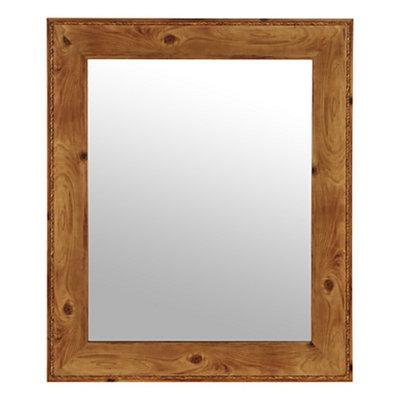 Barnwood Framed Mirror, 29x35