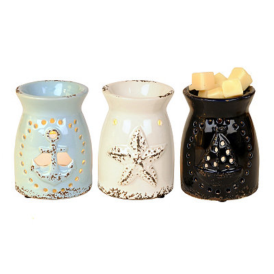 Distressed Coastal Wax Warmers