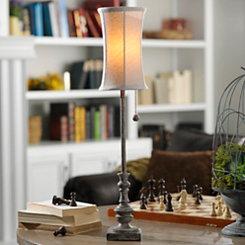 Stonehenge Candlestick Buffet Lamp