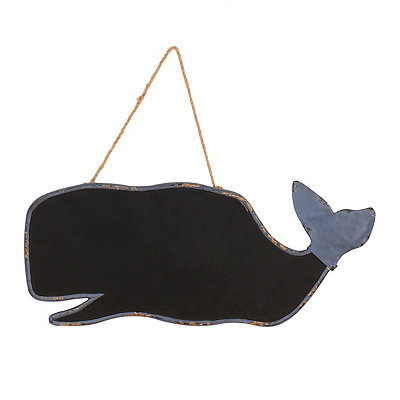 Distressed Blue Whale Chalkboard