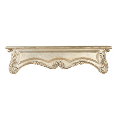 Metallic Silver Mantel