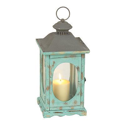 Santorini Turquoise Lantern