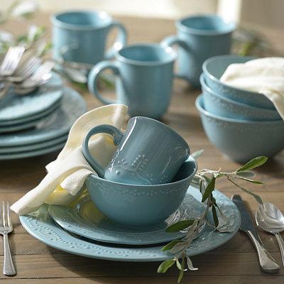 Aqua Whitaker 16-pc. Dinnerware Set