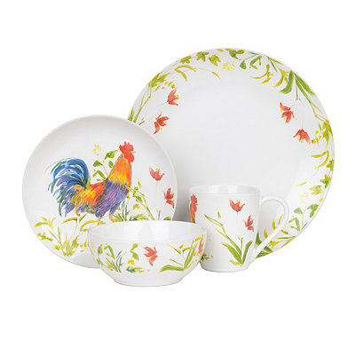 Meadow Rooster 16-pc. Dinnerware Set