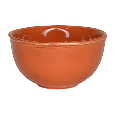 Persimmon Hammered Shades Cereal Bowl