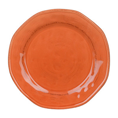 Persimmon Hammered Shades Dessert Plate
