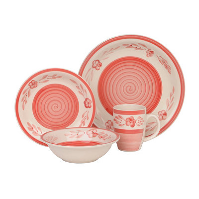 Red Sierra Madre 16-pc. Dinnerware Set