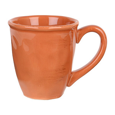 Persimmon Hammered Shades Mug