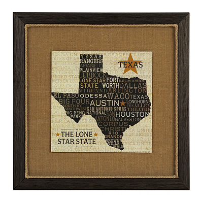 Texas Pride Framed Art Print
