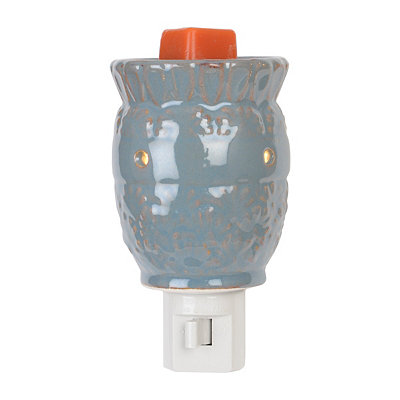 Distressed Blue Tart Burner Night Light