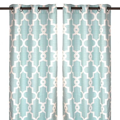 Curtains   Curtains and Drapes   Kirklands. Blue And Yellow Shower Curtain. Home Design Ideas