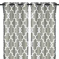 Gray Maxwell Curtain Panel Set, 96 in.