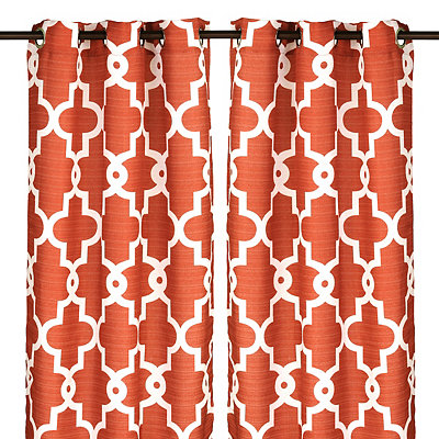 Spice Maxwell Curtain Panel Set, 96 in.
