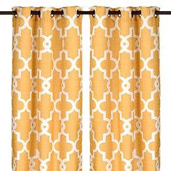 Marigold Maxwell Curtain Panel Set, 96 in.