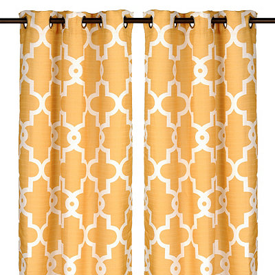 Marigold Maxwell Curtain Panel Set, 96 in.