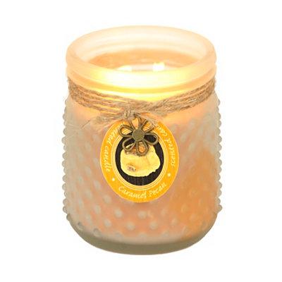 Caramel Pecan Hobnail Jar Candle