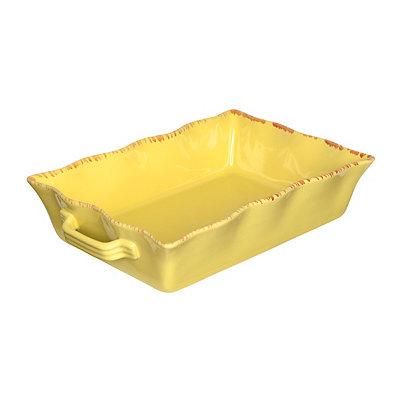 Butter Stoneware Baking Dish, 3.5 qts.