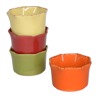 Spice Colors Ramekins, Set of 4