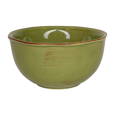 Sage Hammered Shades Cereal Bowl