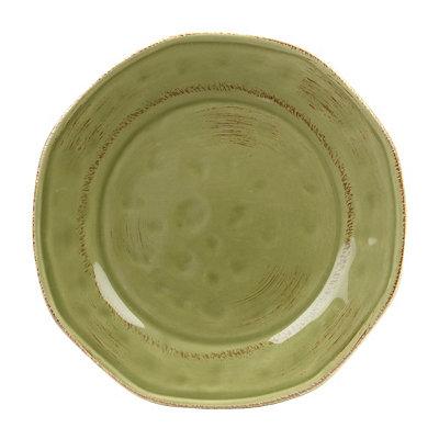 Sage Hammered Shades Dessert Plate