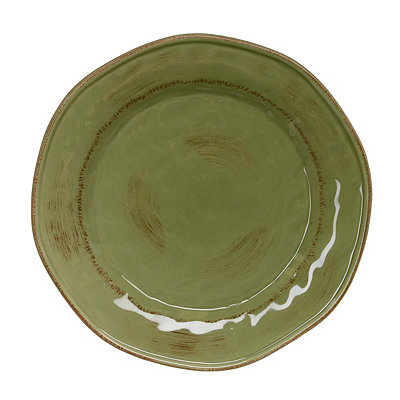 Sage Hammered Shades Dinner Plate
