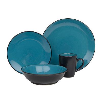Turquoise Vivendi 16-pc. Dinnerware Set