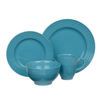 Turquoise Stanza 16-pc. Dinnerware Set