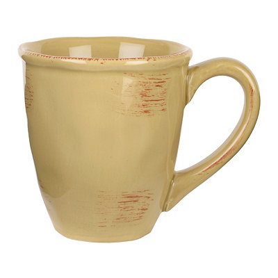Tan Hammered Shades Mug